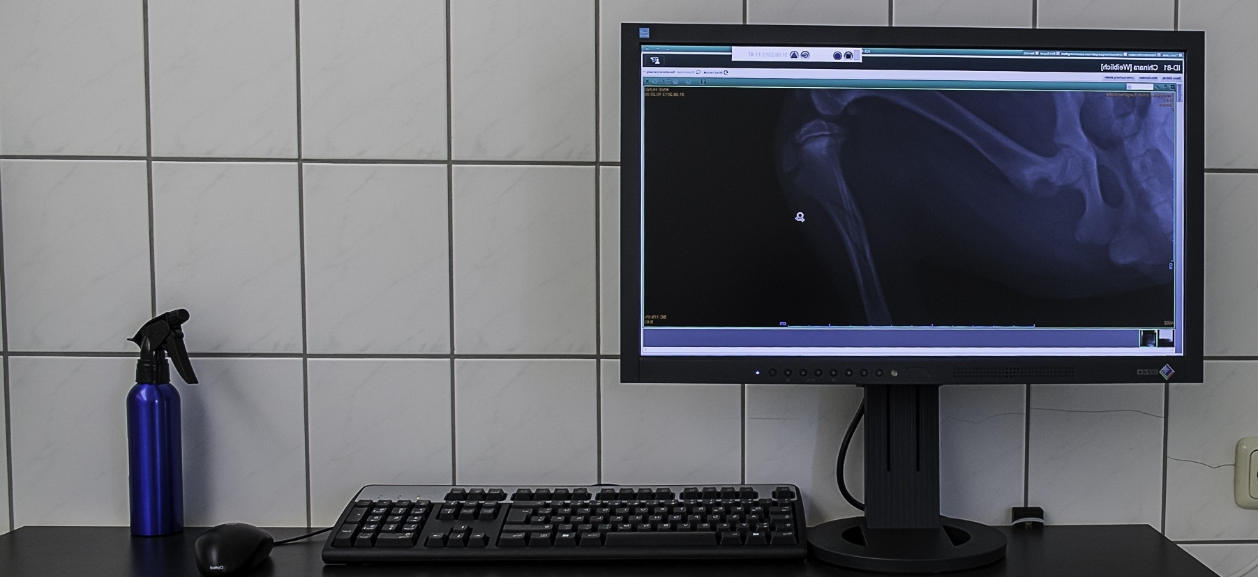 Ankunft unseres Röntgengerätes